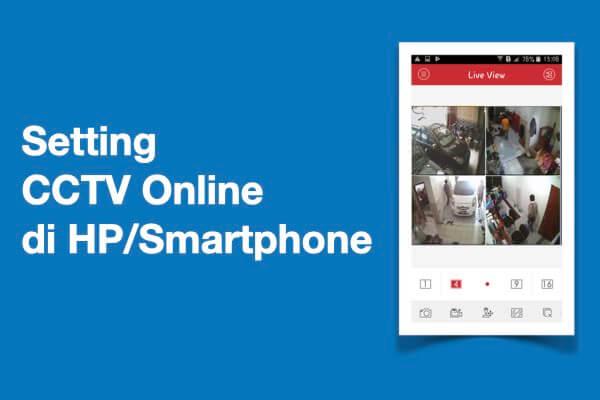 setting cctv online